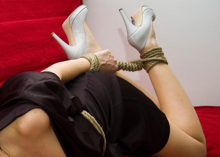 BDSM sexlekar i sängen